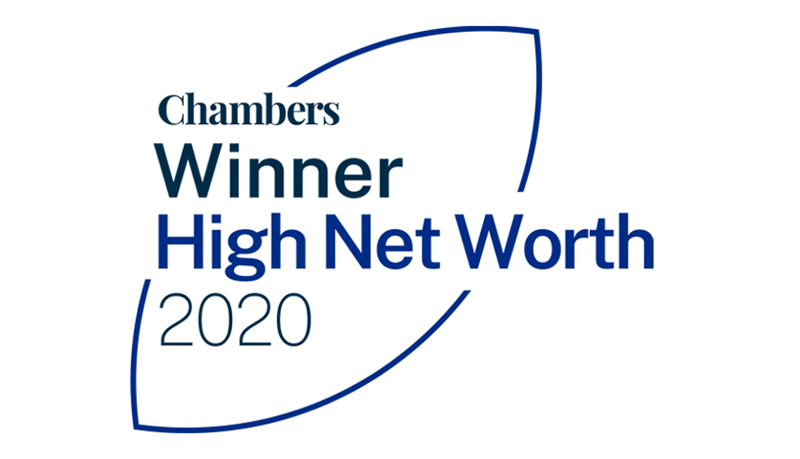 Chambers HNW Top Rated Firm logo