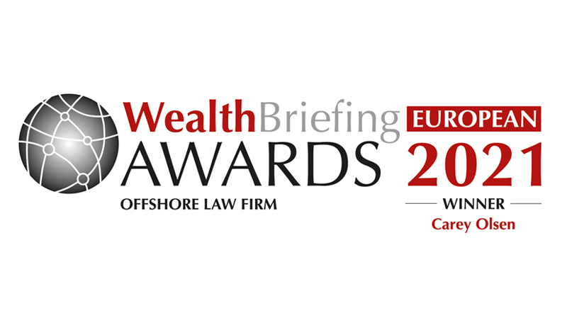 WealthBriefing European Awards logo