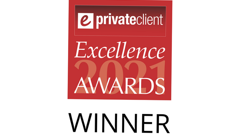 ePrivate client excellence awards logo